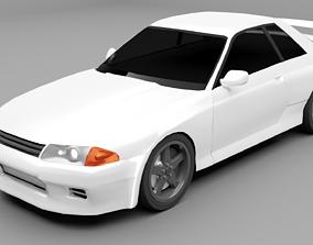 3D model Nissan Skyline R-32