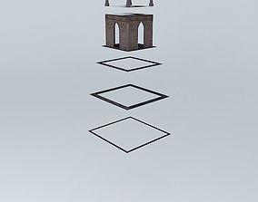 3D model Main Clock San Miguel de Allende
