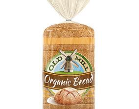 pack 3D model Bread Package