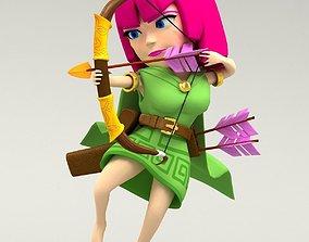 clash 3D Archer