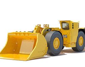 Underground Mining Loader 3D