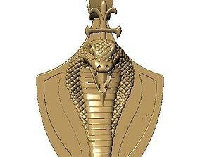 Pendants snake style 3D print model