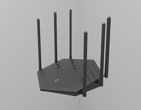 Router 3D asset