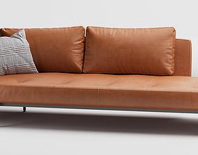 SAKe sofa - by BeB Italia - Piero Lissoni 3D