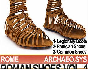 Ancient Roman Shoes Vol 1 Caligae Calcei 3D