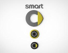 Logo Car Smart 3D