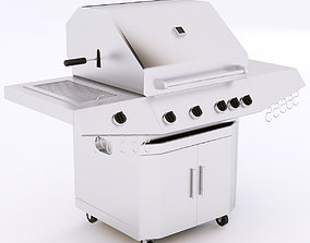 3D model Gas Grill outdoor