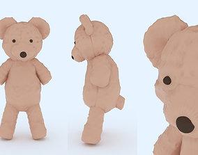 3D printable model winter Teddy Bear