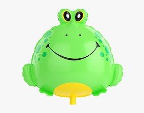 Frog decoration foil balloon 12 3D