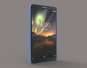 3D printable model Nokia 6 1 copper and blue