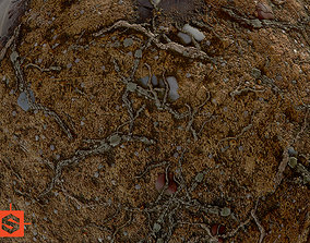 Dirty Ground 3D model