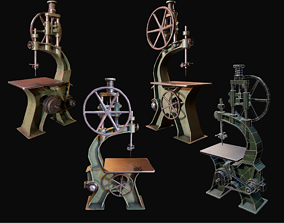3D model Drill Stand WWII