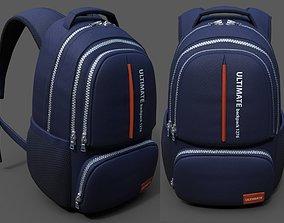 3D model Backpack Generic sport human scifi fantasy 1