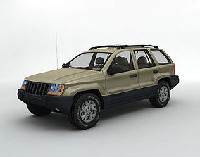 2000 Grand Cherokee Loredo SUV 3D model