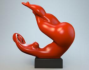 3D print model Sculpture playful mood P