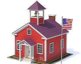 3D model School House