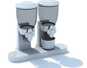 Beverage Dispensers Dual 3D