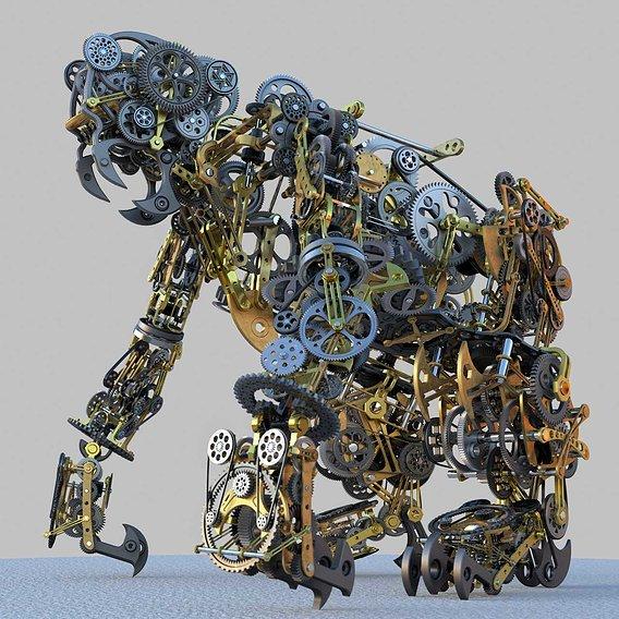 Mechanical Monkey