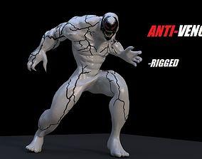 Anti-Venom Rigged 3D