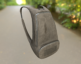 3D asset Backpack LOW-POLY PBR Back Pack
