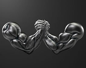 armwrestling 3D model Arm-Wrestling