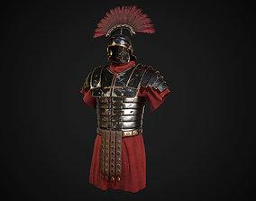 Roman armor lorica segmentata 3D asset