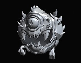 3D printable model Cacodemon Toy Articulated
