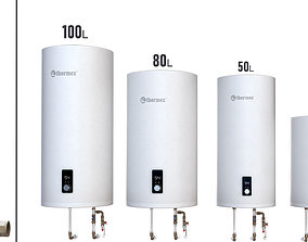 Set Water heater THERMEX Solo V 3D model