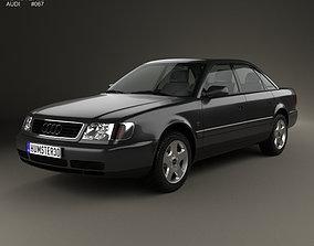 Audi A6 C4 sedan 1994 3D model