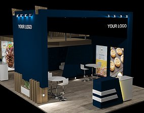 Exhibitoon Stand Event 3D model