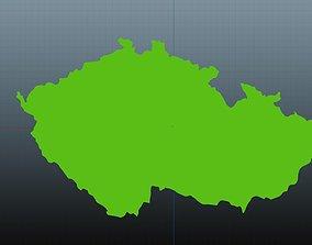 Czech map symbol 3D