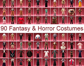 3D 90 Fantasy and Horror Costumes