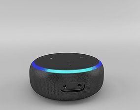3D model Amazon Echo Dot 3rd Generation 2018 - Charcoal