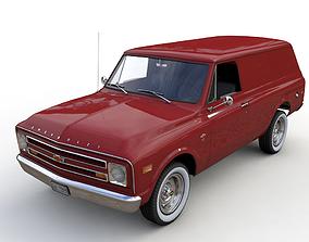 CHEVY C10 PANEL TRUCK 1968 3D model