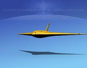 3D model Z-Ray Underwater glider