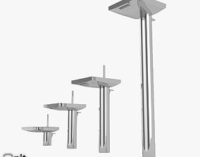 3D model Hansgrohe Axor Starck X washbasin tap