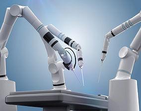 Robot surgery machine 3D