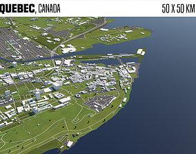 Quebec Canada 3D model