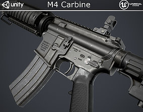 M4 Carbine 3D model game-ready