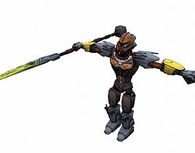 realtime Game ready Character A13 - max fbx obj 3ds png 1