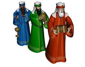 Three Kings 3D model