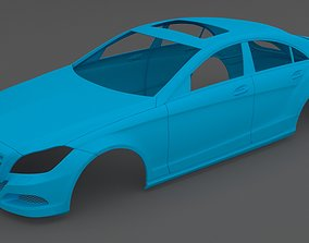 Clean Scan Mercedes-Benz CLS - 3D printable model