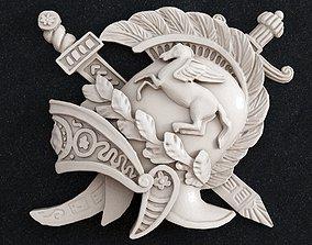 3D print model Helmet sword knight