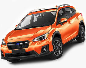 crossover Subaru XV Crosstrek 2018 3D model
