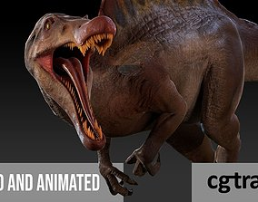 animated Spinosaurus For your Games or Animations 2
