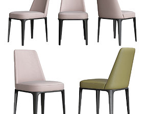 3D Poliform Sophie Dinning Chair