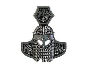 3D printable model Hammerhelm-pendant
