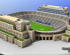 Notre Dame Stadium 3D