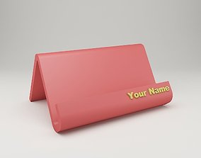 Modern Business Card Holder 3D print model