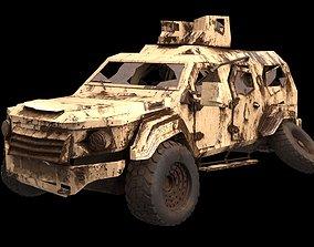 3D asset damaged Terradyne Gurkha lapv